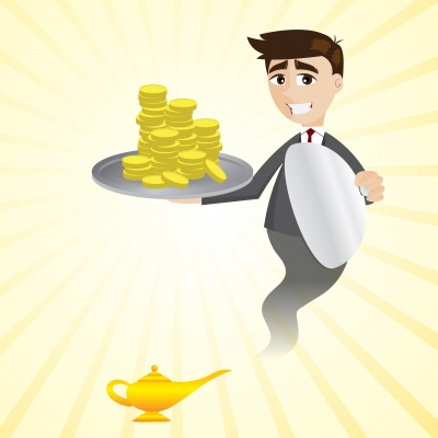 iosphere freedigitalphotos - genie money